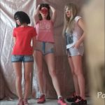 3 unimaginably sweet girls! And me Domination Scat [FullHD / 2020]