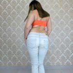 Love Shitting Blue Light Jeans ElenaToilet Panty scat porn [UltraHD/2K]