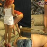 Toilet Slave has Surprised Visit Part 1 Britany HD Dom-Princess