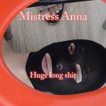 Mistress Anna – Loud Farts and Shit – Big Lump Of Shit – Foul Shit – Huge Long Shit