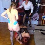Eat Slavegirl Shits Pathetic Shit Eater Toilet with Natalia Kapretti Domination Scat